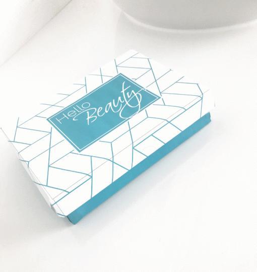 Pakavimas Hello Beauty dėžutėje